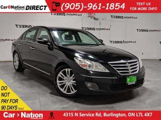 Used 2009 Hyundai Genesis 4.6 Technology| AS-TRADED| NAVI| SUNROOF| LEATHER| for sale in Burlington, ON