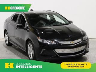 Used 2017 Chevrolet Volt LT A/C GR ELECT for sale in St-Léonard, QC