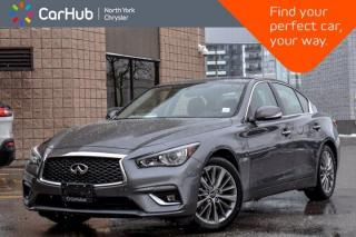 Used 2018 Infiniti Q50 2 0t LUXE AWD Sunroof Backup Camera Bluetooth Heated Seats KeylessGo for sale in Thornhill, ON