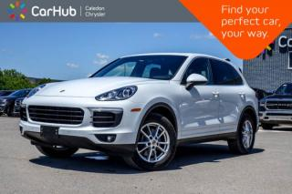 Used 2016 Porsche Cayenne AWD|Navi|Pano Sunroof|Bluetooth|Backup Cam|Heated Ventilated front Seats|18
