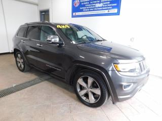 Used 2016 Jeep Grand Cherokee Overland LEATHER NAVI SUNROOF for sale in Listowel, ON