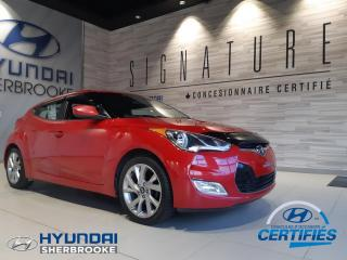 Used 2016 Hyundai Veloster SE+CAMERA+MAGS+BANCS CHAUFF+CRUISE for sale in Sherbrooke, QC