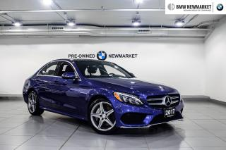 Used 2017 Mercedes-Benz C 300 4MATIC Sedan -1OWNER|BACK UP CAM| CRUISE CONTROL| for sale in Newmarket, ON