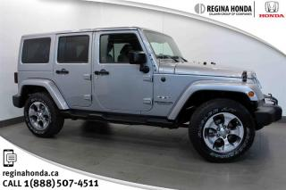 Used 2016 Jeep Wrangler Unlimited Sahara Unlimited, Sahara! *4 DOOR*! *AUTO*! Leather! for sale in Regina, SK