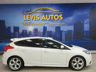 Used 2013 Ford Focus ST TURBO CUIR GPS NAVIGATION 6 VITESSE M for sale in Lévis, QC