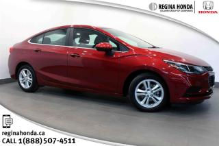Used 2017 Chevrolet Cruze LT - 6AT Only 28,000km, Local Trade, Well Equipped! for sale in Regina, SK