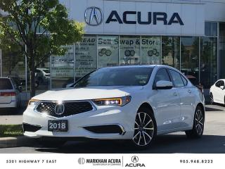 Used 2018 Acura TLX 3.5L SH-AWD V6 290HP, Remote Start, CarPlay / Android *AUTO* for sale in Markham, ON