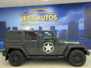 Used 2016 Jeep Wrangler WILLYS TOIT DURE for sale in Lévis, QC
