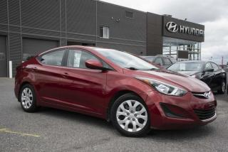 Used 2014 Hyundai Elantra Berline automatique, GL for sale in St-Hyacinthe, QC
