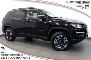 Used 2018 Jeep Compass 4x4 Trailhawk NAVIGATION - PANO SUNROOF for sale in Regina, SK