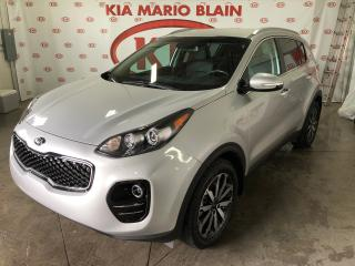 Used 2018 Kia Sportage EX AWD * CAMERA * CUIR * MAGS * DEMARRER for sale in Ste-Julie, QC