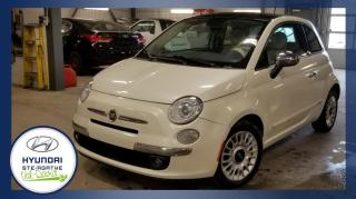 Used 2013 Fiat 500 Voiture à hayon 2 portes Lounge for sale in Val-David, QC