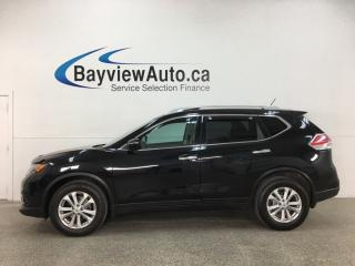 Used 2015 Nissan Rogue SV - PANOROOF! HTD SEATS! FULL PWR GROUP! ALLOYS! + MORE! for sale in Belleville, ON