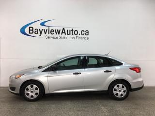 Used 2017 Ford Focus - 5SPD! A/C! PWR GROUP! REVERSE CAM! for sale in Belleville, ON
