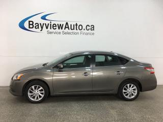 Used 2015 Nissan Sentra 1.8 SV - 19,000KMS! AUTO! ROOF! HTD SEATS! ALLOYS! + MORE! for sale in Belleville, ON