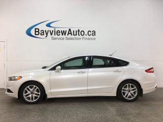 Used 2016 Ford Fusion SE - 67,000KMS! SYNC! ECOBOOST! REMOTE START! ALLOYS! + MORE! for sale in Belleville, ON