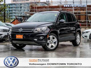 Used 2016 Volkswagen Tiguan COMFORTLINE 4Motion for sale in Toronto, ON