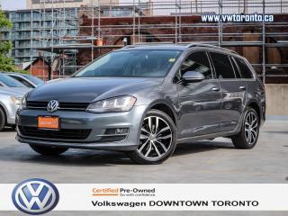 Used 2015 Volkswagen Golf Sportwagon HIGHLINE MULTIMEDIA PACKAGE for sale in Toronto, ON