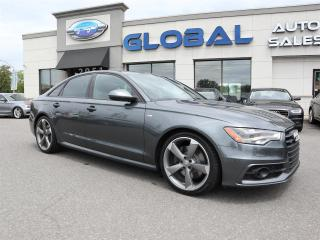 Used 2015 Audi A6 3.0 TDI TECHNIK quattro Tiptronic for sale in Ottawa, ON