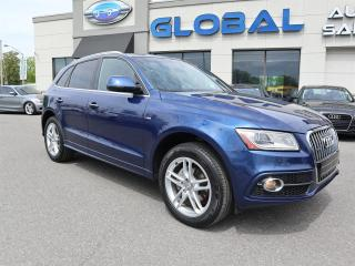Used 2015 Audi Q5 2.0T PROGRESSIV  S-LINE quattro NAVIGATION PANOR ROOF. for sale in Ottawa, ON
