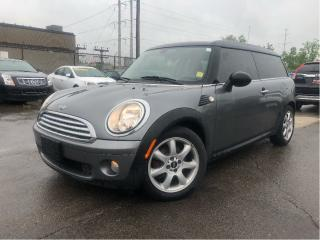 Used 2010 MINI Cooper Clubman Panoroof| Htd Leather| Pirelli Tires| Auto for sale in St Catharines, ON