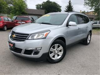 Used 2013 Chevrolet Traverse 1LT| DVD| AWD| Great Tires| 3.6L V6 for sale in St Catharines, ON