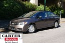 Used 2009 Honda Civic DX-G + LOW KMS + A/C + ALLOYS + ACCIDENT FREE! for sale in Vancouver, BC