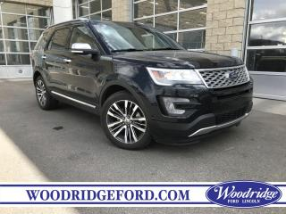 Used 2017 Ford Explorer Platinum ***PRICE REDUCED*** NO ACCIDENTS, REMOTE START, REVERSE CAMERA for sale in Calgary, AB