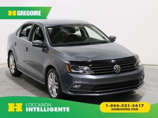 Used 2015 Volkswagen Jetta Highline Tsi Cuir for sale in St-Léonard, QC