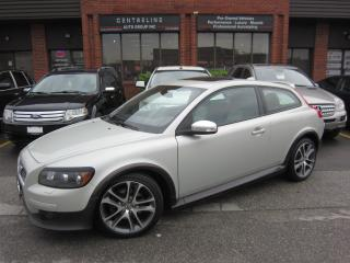 Used 2009 Volvo C30 2.4i/ R-DESIGN/ RARE R-DESIGN / $5995 +HST+LIC FEE CERTIFIED for sale in North York, ON