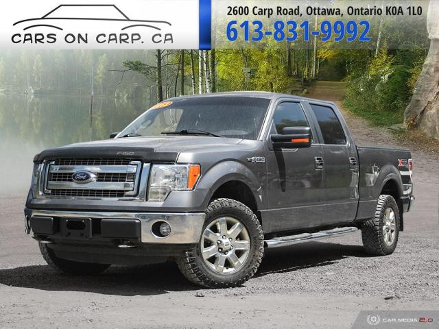 2013 Ford F-150 XLT SuperCrew 6.5-ft. Bed 4X4