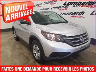 Used 2014 Honda CR-V LX/AUTO/51664 KILO*WOWW! for sale in Montréal, QC