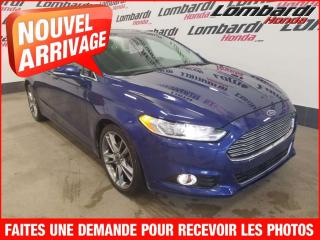 Used 2013 Ford Fusion TITANIUM/AUTO./PETIT BUDGET for sale in Montréal, QC