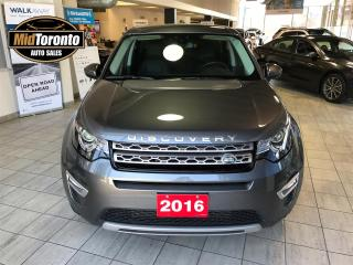 Used 2016 Land Rover Discovery Sport LUXURY | One Owner | Mint | Loaded for sale in North York, ON