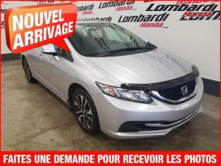 Used 2013 Honda Civic EX/AUTOMATIQUE/PETIT PAIMENT for sale in Montréal, QC