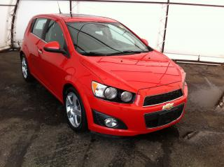 Used 2012 Chevrolet Sonic LT SUNROOF, AIR CONDITIONING, POWER GROUP, ALUMINUM SPORT WHEELS for sale in Ottawa, ON