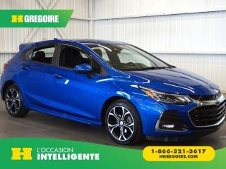 Used 2019 Chevrolet Cruze RS LT CAMÉRA DE for sale in St-Léonard, QC