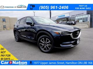 Used 2018 Mazda CX-5 GT | LEATHER | SUNROOF | NAV | HEATED SEATS for sale in Hamilton, ON