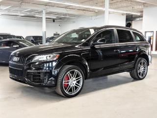 Used 2015 Audi Q7 TDI/VORSPRUNG EDITION/21 INCH WHEELS/7PASS/DIESEL! for sale in Toronto, ON