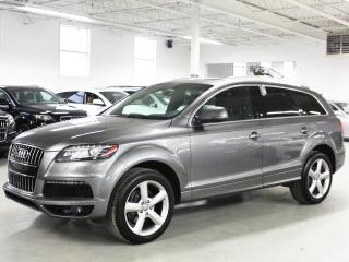 Used 2011 Audi Q7 S LINE/TDI/NAVIGATION/7PASS/PUSH BUTTON START/BLIND SPOT! for sale in Toronto, ON