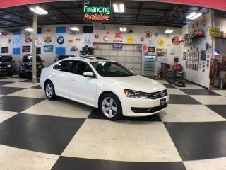 Used 2015 Volkswagen Passat 1.8TSI COMFORTLINE MANUAL LEATHER SUNROOF CAMERA 99K for sale in North York, ON