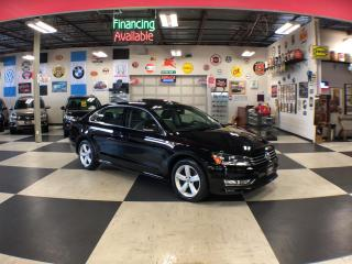 Used 2015 Volkswagen Passat 1.8TSI COMFORTLINE MANUAL 2TONE LEATHER SUNROOF 51K for sale in North York, ON