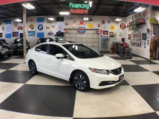 Used 2015 Honda Civic Sedan EX AUT0 A/C SUNROOF BACKUP CAMERA BLUETOOTH 95K for sale in North York, ON