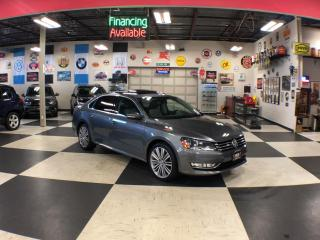 Used 2015 Volkswagen Passat 1.8TSI COMFORTLINE AUT0 NAVI 2TONE LEATHER SUNROOF 84K for sale in North York, ON