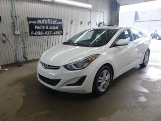 Used 2014 Hyundai Elantra GL for sale in St-Raymond, QC