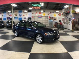 Used 2015 Volkswagen Passat 1.8 TSI COMFORTLINE AUT0 NAVI LEATHER SUNROOF CAMERA 85K for sale in North York, ON