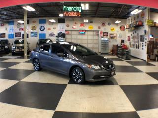 Used 2015 Honda Civic Sedan EX AUT0 A/C SUNROOF BACKUP CAMERA BLUETOOTH 77K for sale in North York, ON