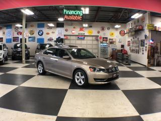 Used 2015 Volkswagen Passat 1.8TSI COMFORTLINE AUT0 LEATHER SUNROOF CAMERA 28K for sale in North York, ON