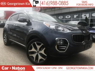 Used 2017 Kia Sportage SX   TURBO   ONE OWNER   CLEAN CARPROOF   for sale in Georgetown, ON