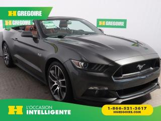 Used 2015 Ford Mustang GT Premium for sale in St-Léonard, QC